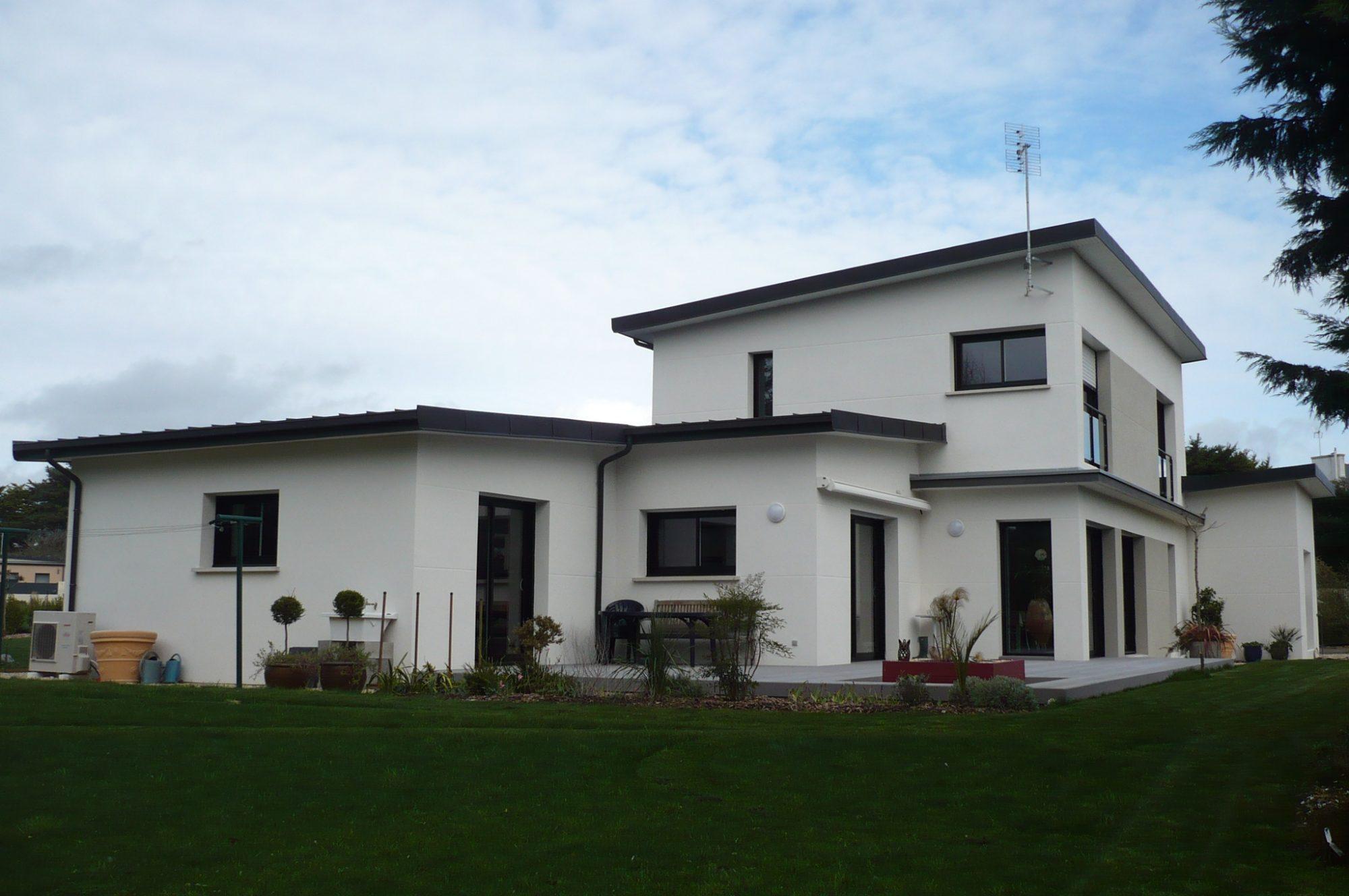Constructeur maison contemporaine maison garnier