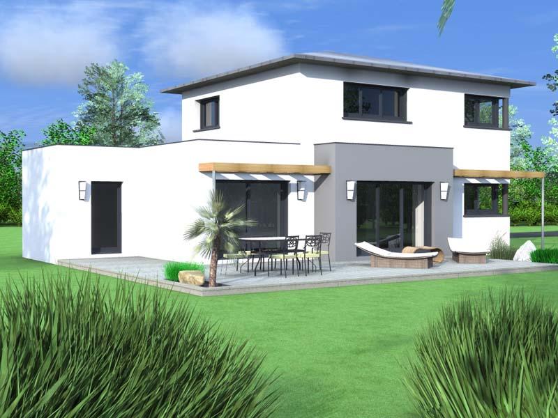 Maisons contemporaine concarneau Coté Jardin 2