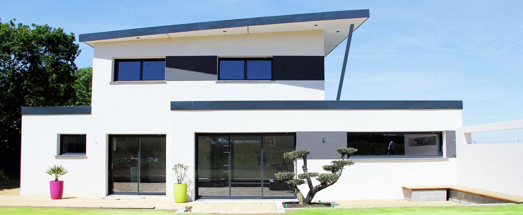 La maison contemporaine positive constructeur de maisons individuelles for Maison moderne aconstruire