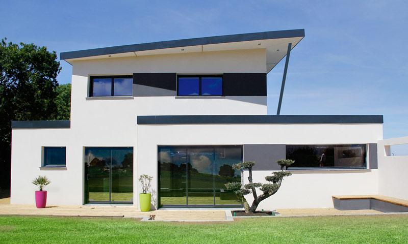 Constructeur de maison contemporaine Finistère Morbihan | tarifs et ...