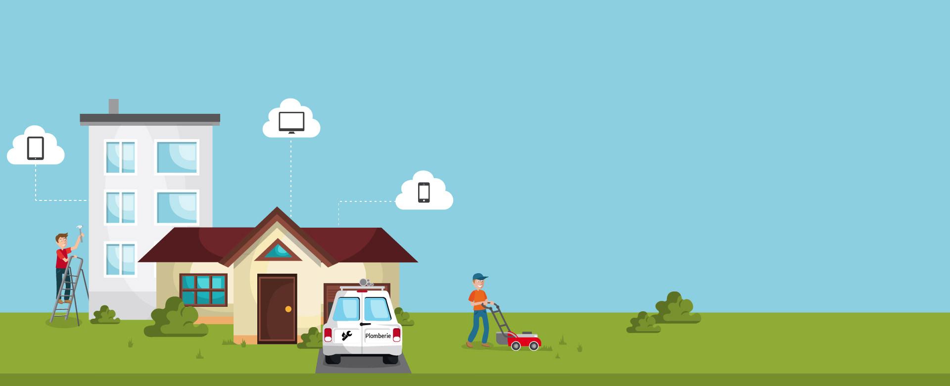 Carnet numérique de la maison